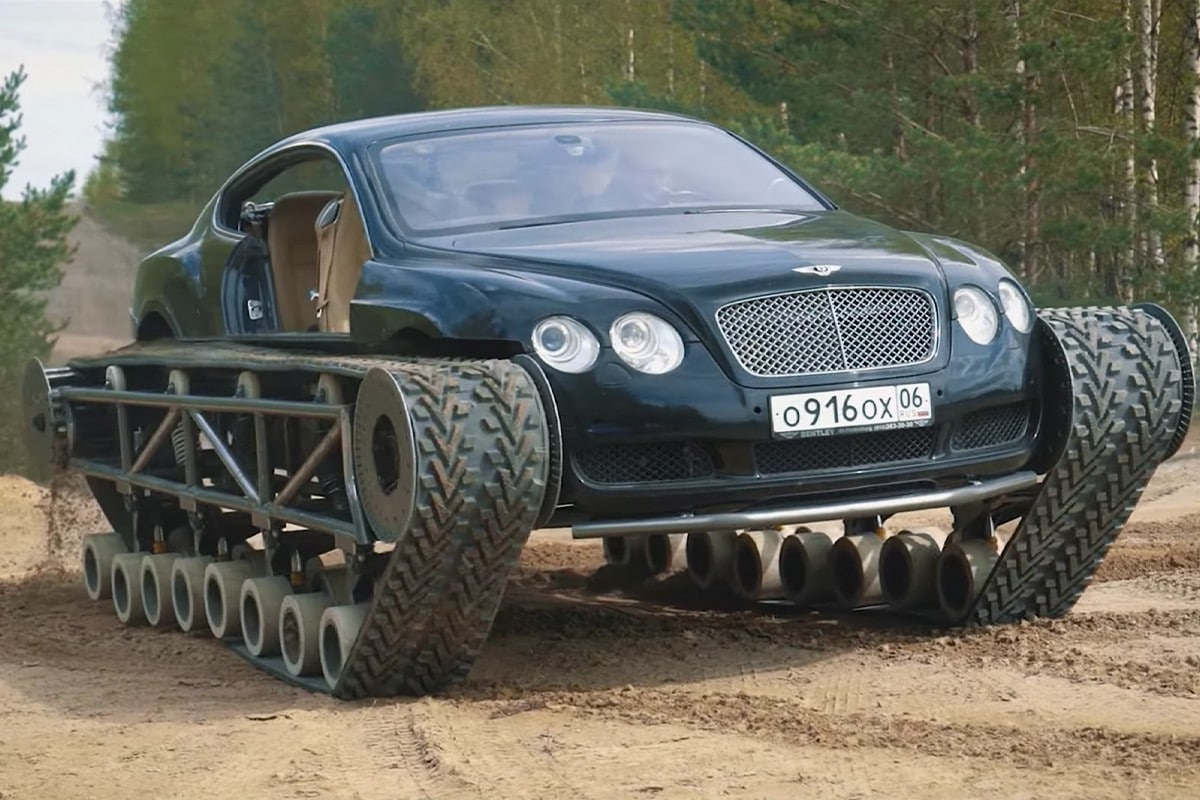 Bentley Continental GT ultratank tank
