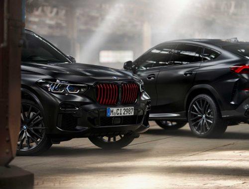 BMW Black Vermilion Edition X5 & Black Vermilion Edition X6