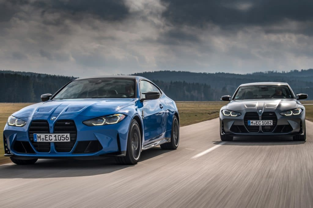 BMW M3 Competition sedan en BMW M4 Competition coupé