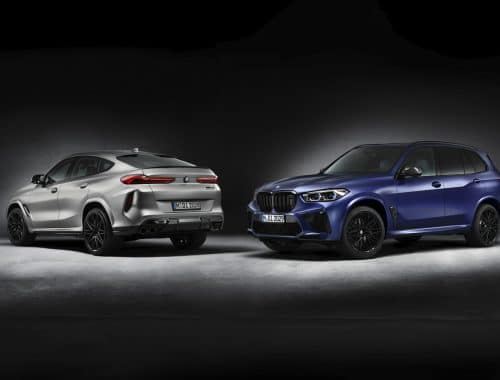 BMW X5 M Competition First Edition & X6 M Competition First Edition