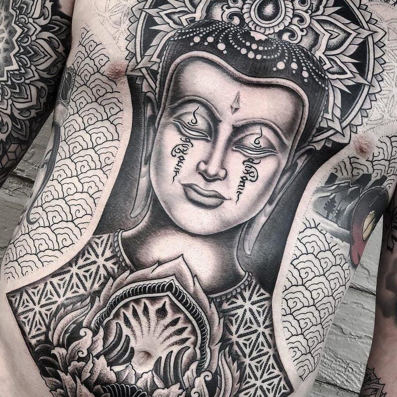 Verrassend Boeddha Tattoo: 11 boeddha tattoos op rij | MANNENSTYLE EH-82