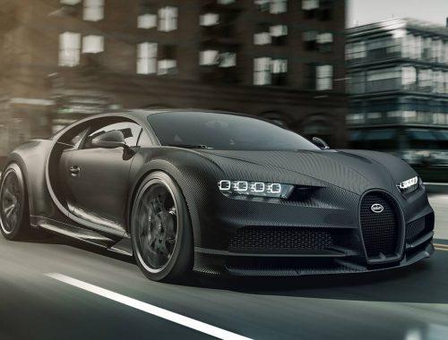 Bugatti Chiron Noire Sportive & Bugatti Noire Élégance
