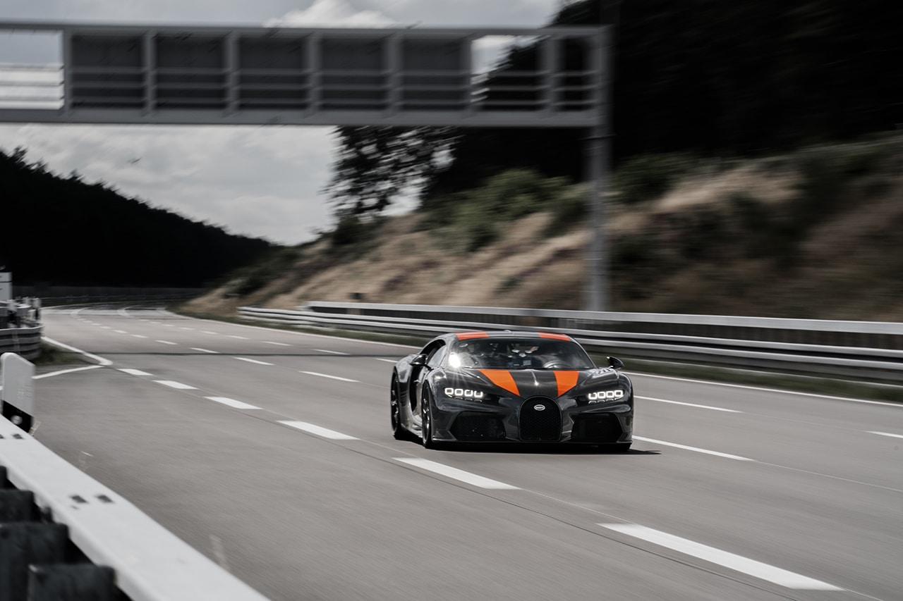 Bugatti Chiron breekt barrière van 482 km/u