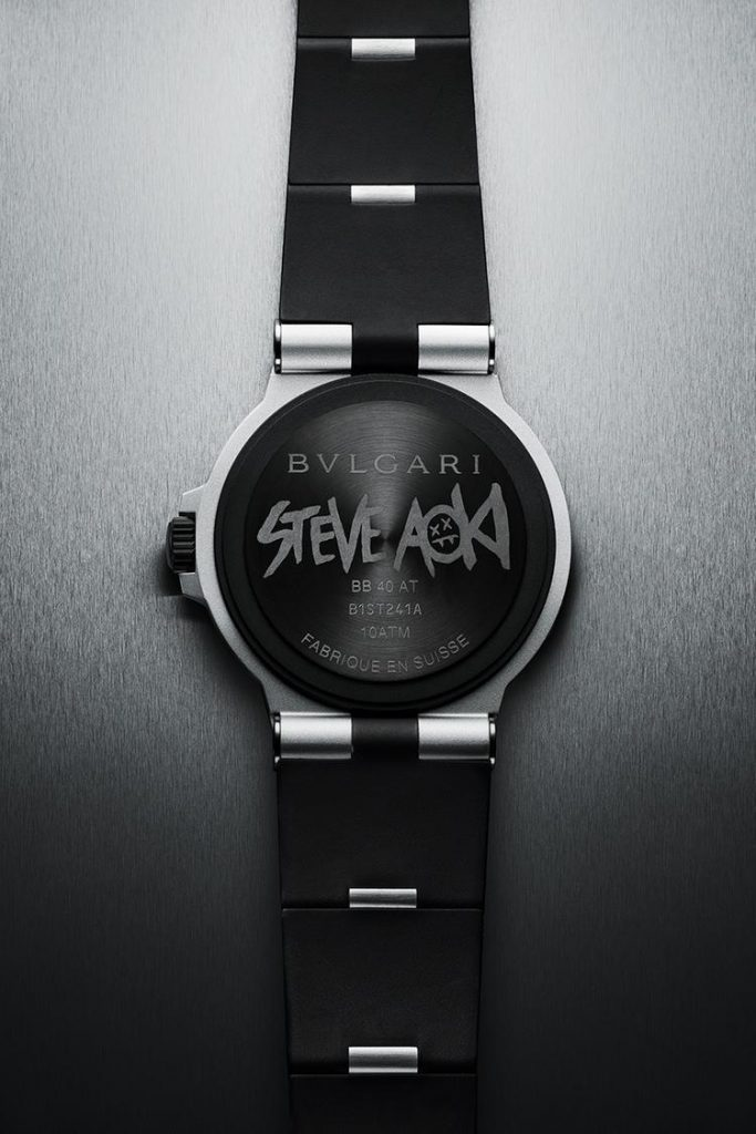 Bulgari Aluminium Steve Aoki Special Edition