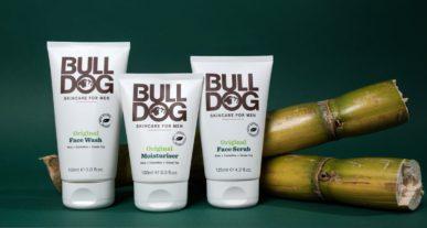 BULLDOG huidverzorgingslijn voor mannen milieuvriendelijk