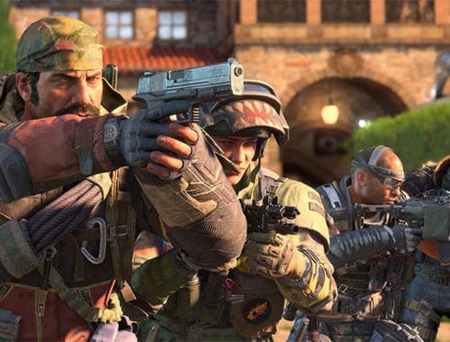 Call of Duty: Black Ops 4 Battle Royale Mode Blackout trailer