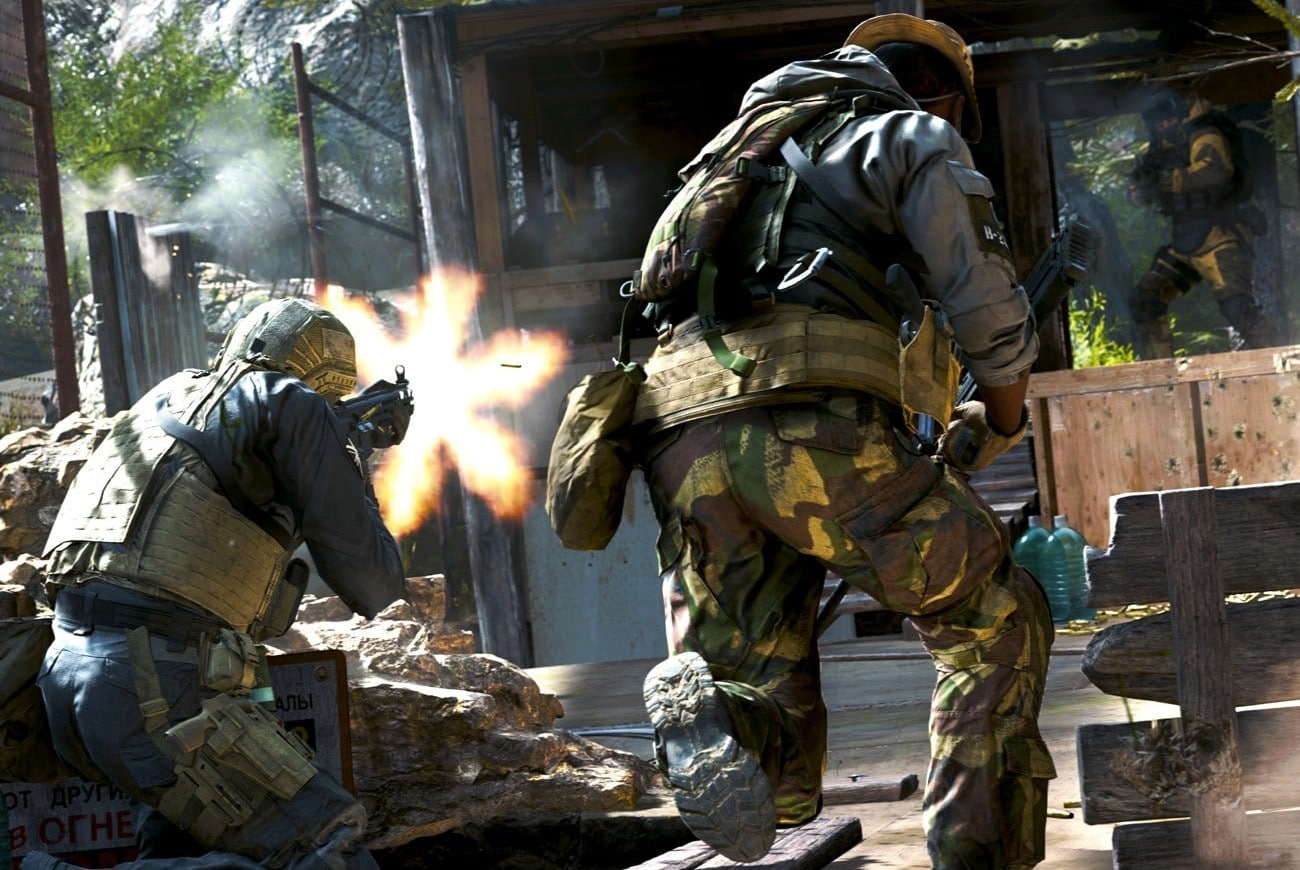 Call of Duty: Modern Warfare multiplayer gameplay-video