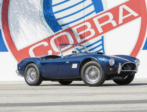 Carroll Shelby auto collectie veiling
