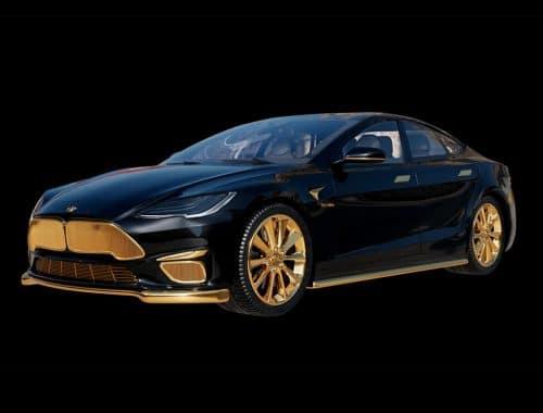 "Caviar ""Model Excellence 24K"" - duurste Tesla ter wereld"