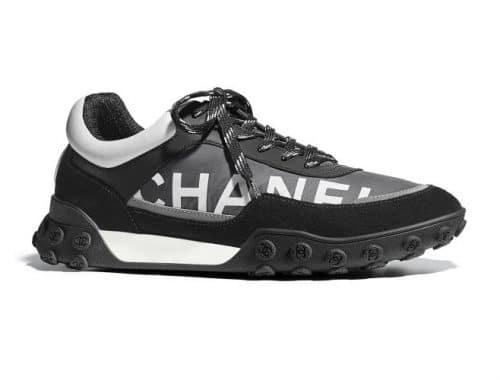 Chanel Nylon & Calfskin Sneaker