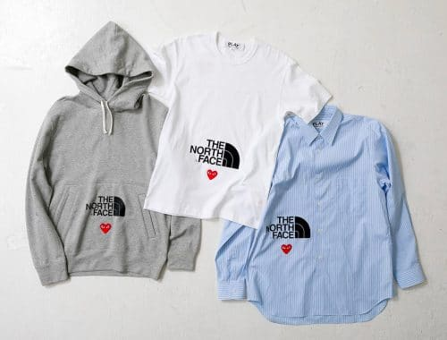COMME des GARÇONS PLAY x The North Face PLAY TOGETHER Capsule
