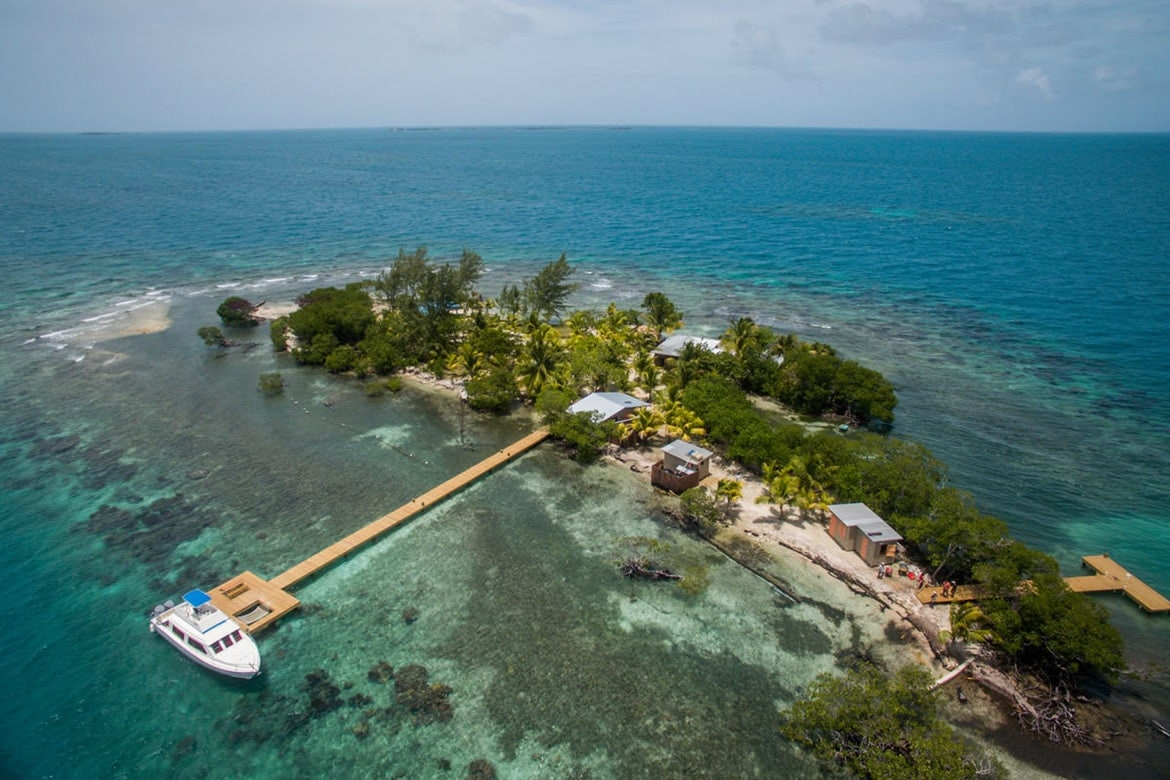 Coral Caye prive-eiland - Francis Ford Coppola