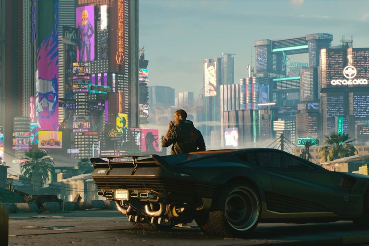 Cyberpunk 2077 nieuwe trailer ps4 xbox pc