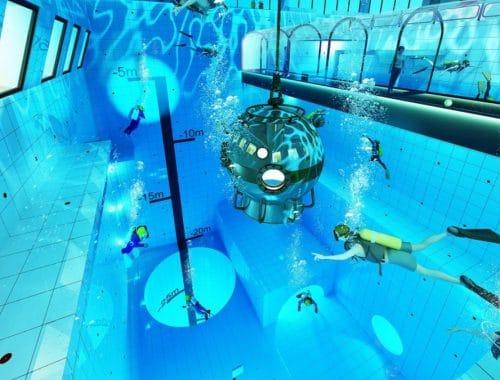 DeepSpot diepste zwembad ter wereld