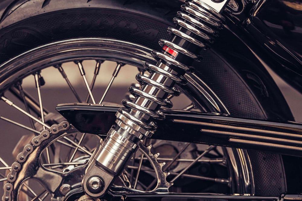 Deus Customs XV-Twin 1200 motor