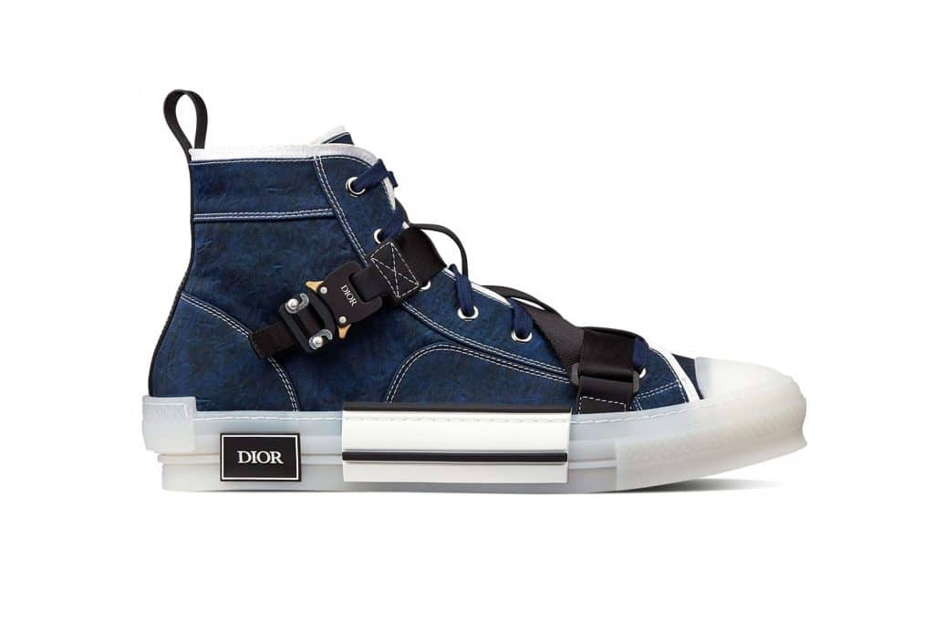 Dior Cobra Buckle B23 Canvas Sneaker
