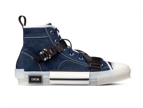 Dior Cobra Buckle B23 Canvas Sneaker