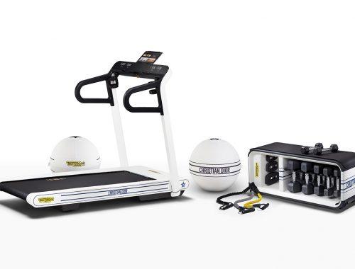 Dior x Technogym Dior Vibe-fitnessapparatuur