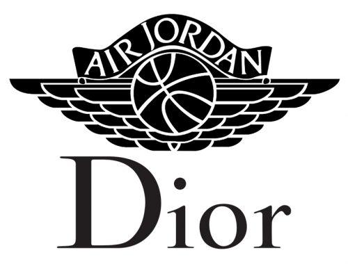 Dior x Jordan Brand AJ1 sneaker