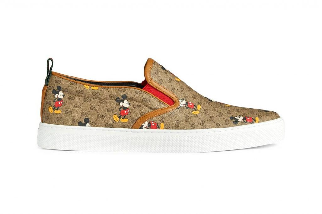Disney x Gucci Mickey Mouse sneakers