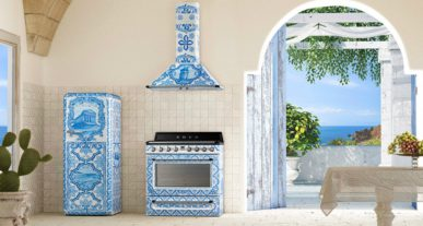SMEG x Dolce & Gabbana keukenlijn divina cucina 2018