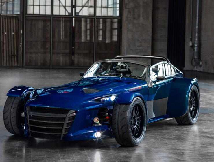 Donkervoort Blue D8 GTO RS Bare Naked Carbon Edition