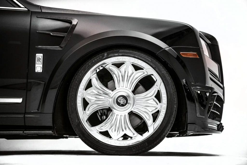 Drake's Chrome Hearts Rolls-Royce Cullinan