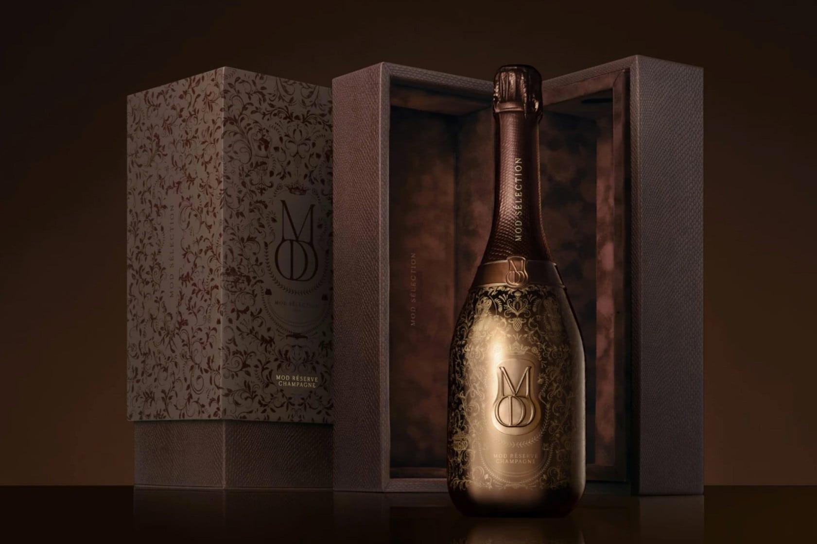 Drake introduceert Mod Sélection Champagne