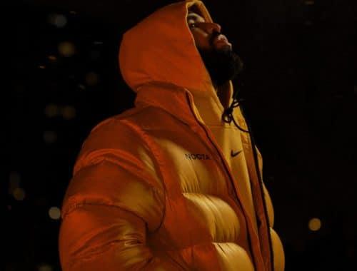 Drake en Nike NOCTA