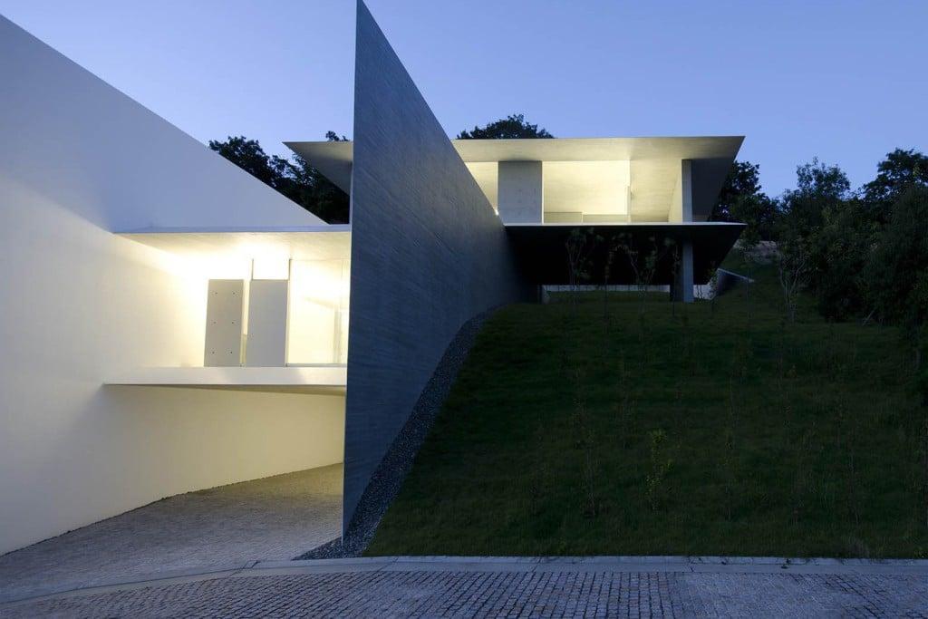 Droomhuis kubota architect atelier ya house - Exterieur ingang eigentijds huis ...