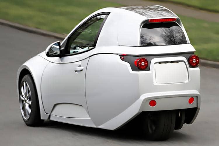 Electra Meccanica Solo elektrische microauto