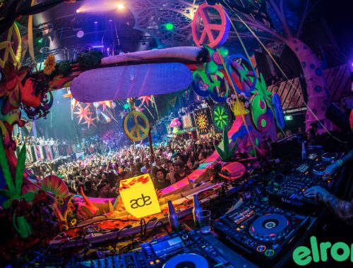Elrow ADE 2018 Chinese Rowyear