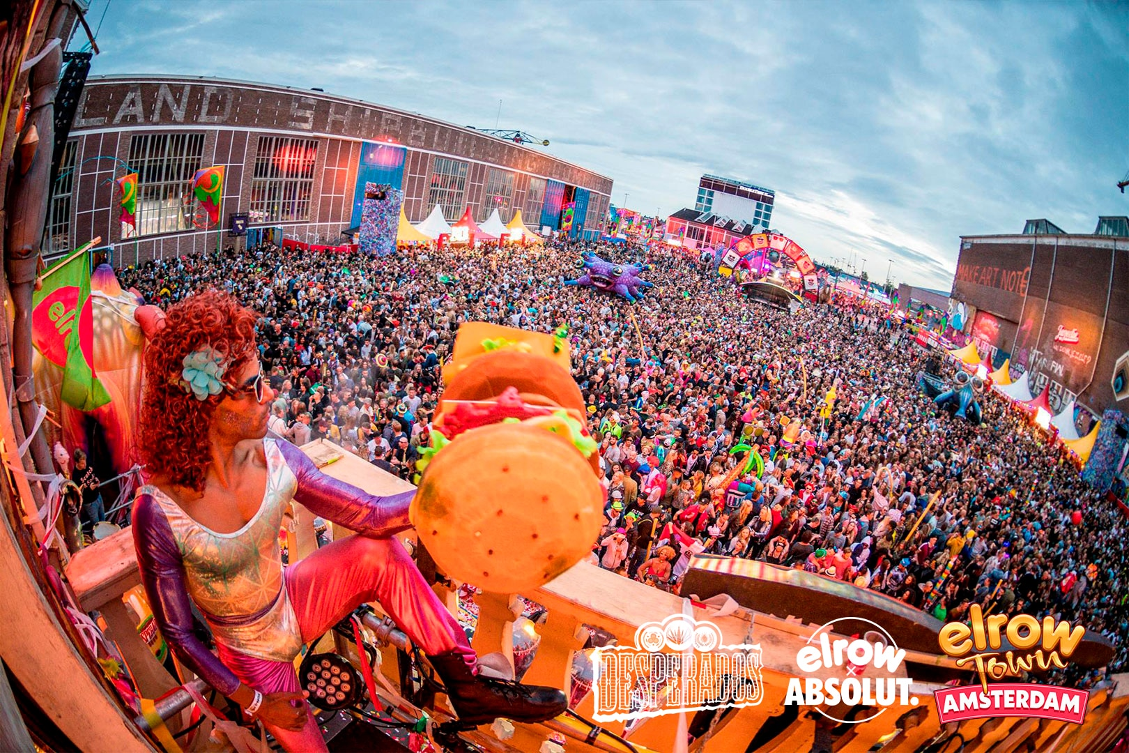 elrow town amsterdam 2019
