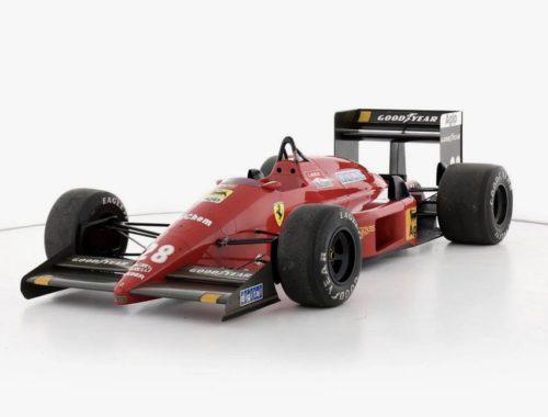 Ferrari F1/87- Enzo Ferrari Formule 1-auto