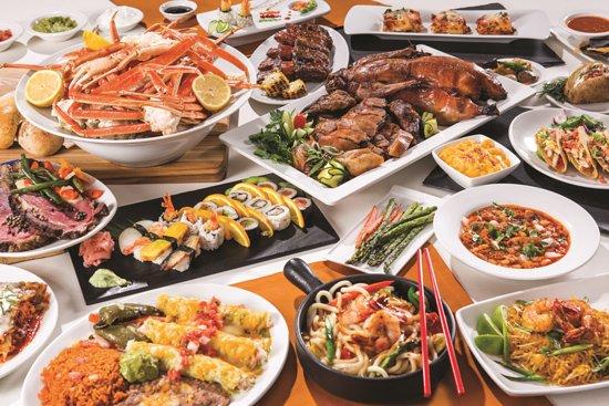 eten in las vegas rio buffet