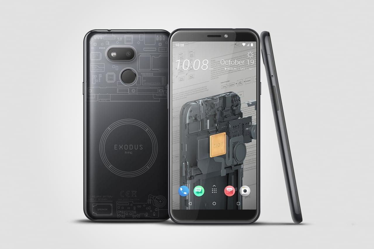 HTC EXODUS 1s bitcoin smartphone