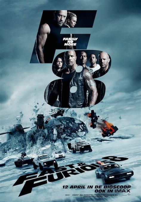 Fast & Furious 8 winactie bioscoop