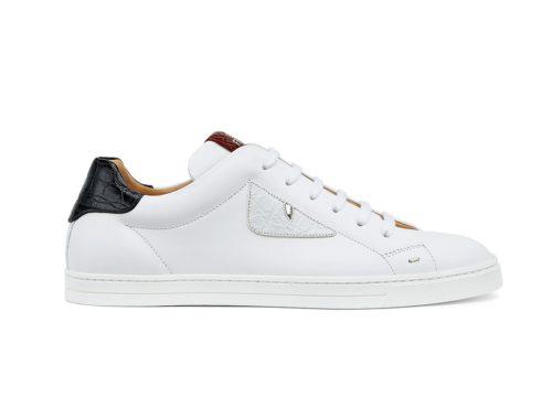 Fendi Calfskin Low-top sneakers 2018