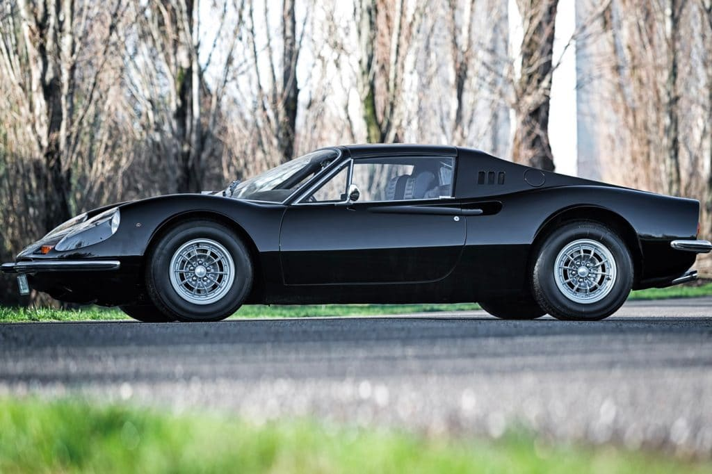 1973 Ferrari Dino 246 GTS veiling