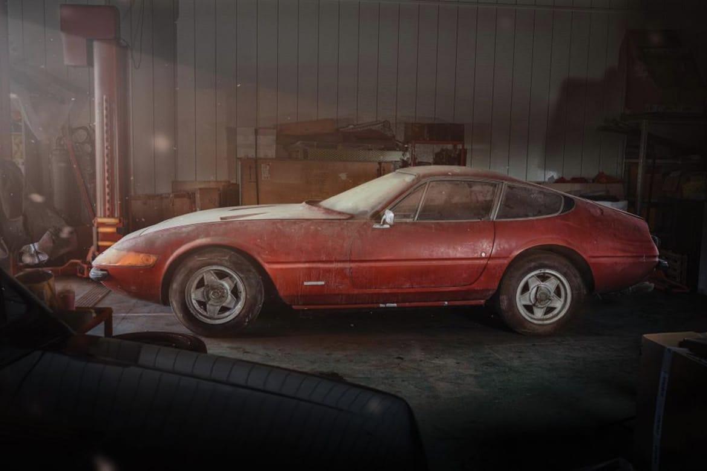 Ferrari 365 GTB 4 Daytona veiling