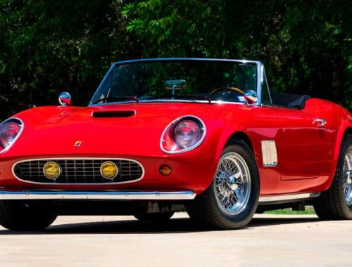 1961 Ferrari Modena GT Spyder California - Ferris Bueller's Day Off