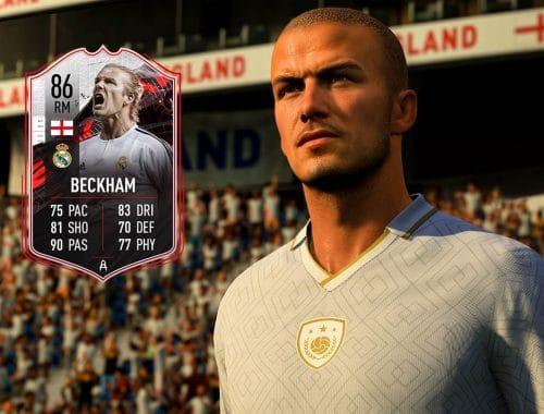 David Beckham in FIFA 21