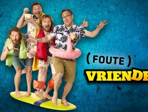 Interview Klaas van Foute Vrienden op vakantie Curaçao