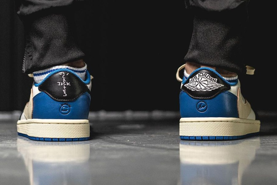 fragment design x Travis Scott x Air Jordan 1 Low