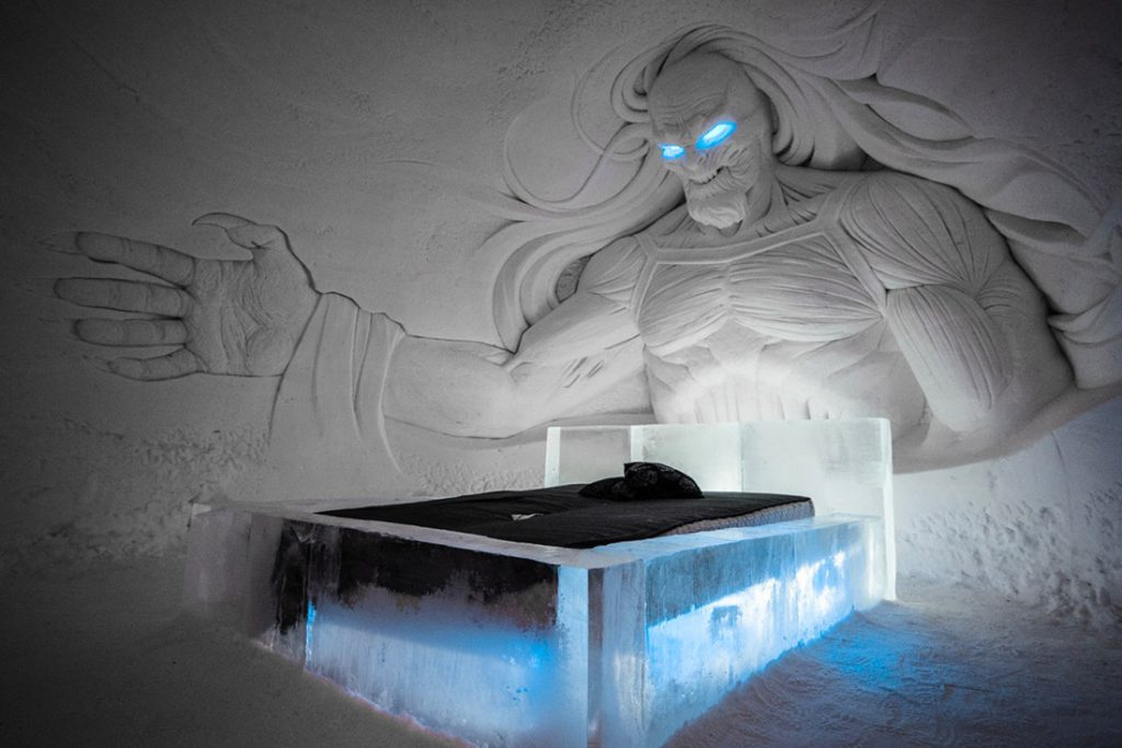Game of Thrones Ice Hotel Finland Lapland