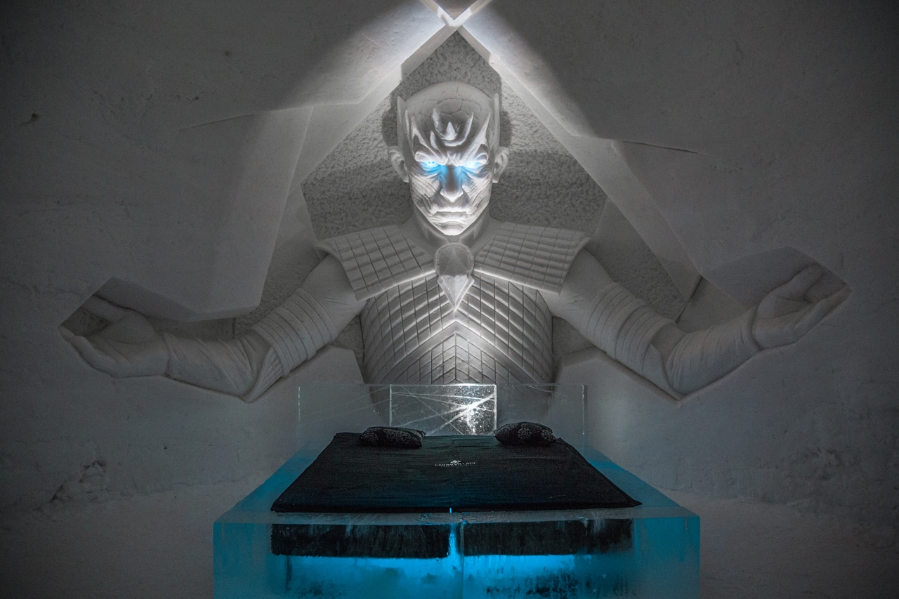 Game of Thrones Ice Hotel