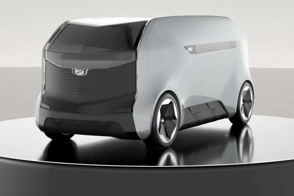 General Motors Cadillac eVTOL autonome luchttaxi CES 2021