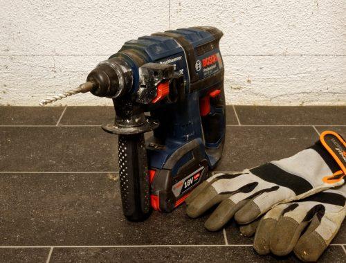 gereedschap klopboormachine