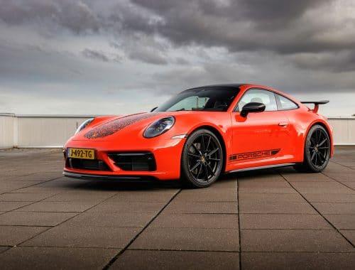 Porsche 911 Carrera S met vingerafdruk eert Gijs van Lennep