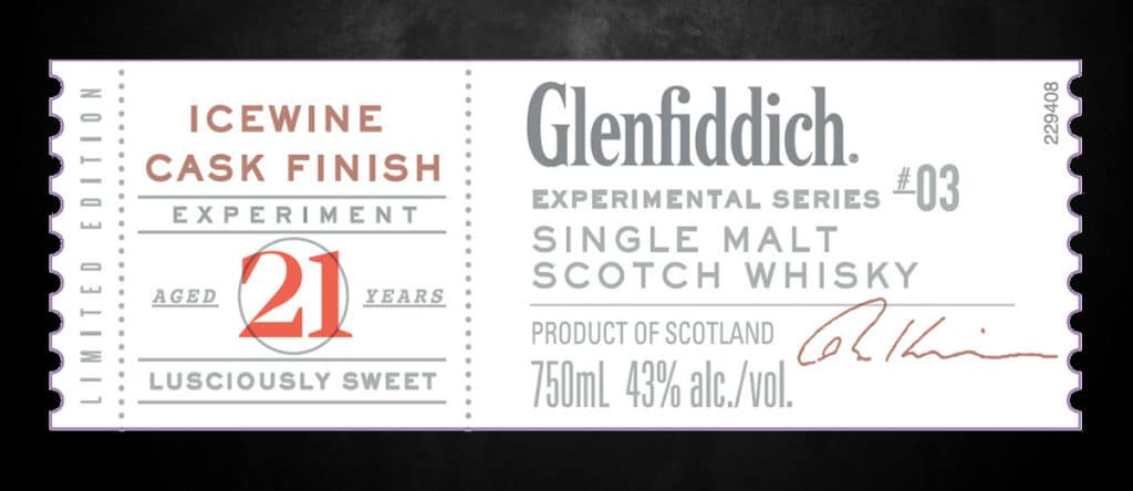 Glenfiddich Winter Storm whisky Experimental Series